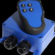 T60S-MD4 Kauko-ohjaus järjestelmä 4-toimintoa, 12-24VDC